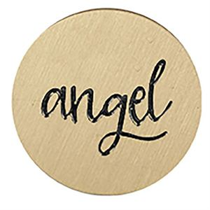 Picture of 'Angel' Large Gold Coin